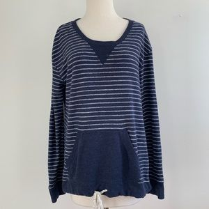 Anthropologie Saturday/Sunday pullover terry top S